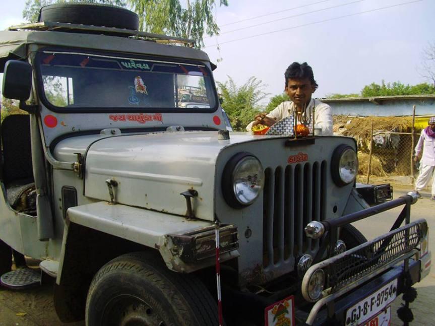 Salman, Jeep, Driver and Gossip