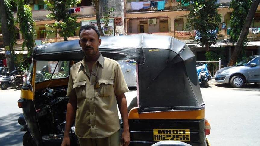 A Different Kind of Auto-Rickshaw Driver