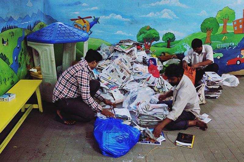 RaddiConnect: Mumbai's First Recycling Based Fundraising Platform