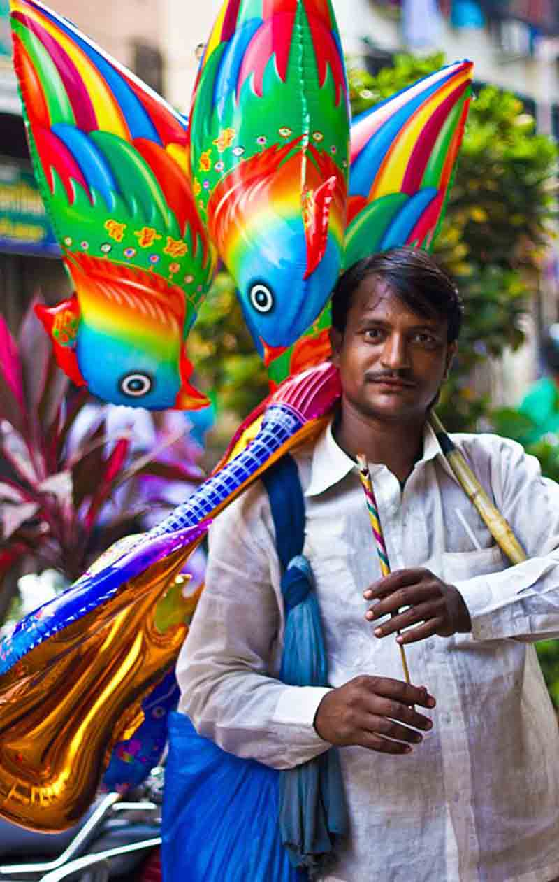 The Rainbow Seller