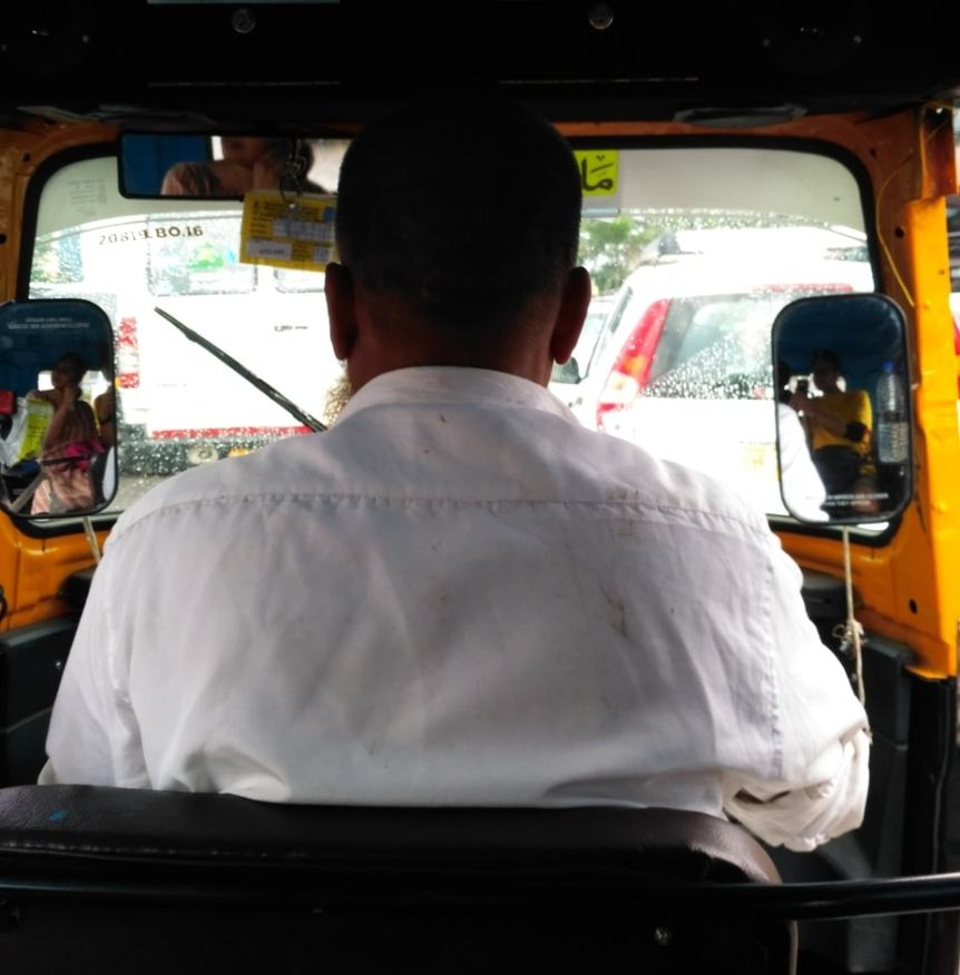 In Conversation With—A Horny Auto-Rickshaw Driver
