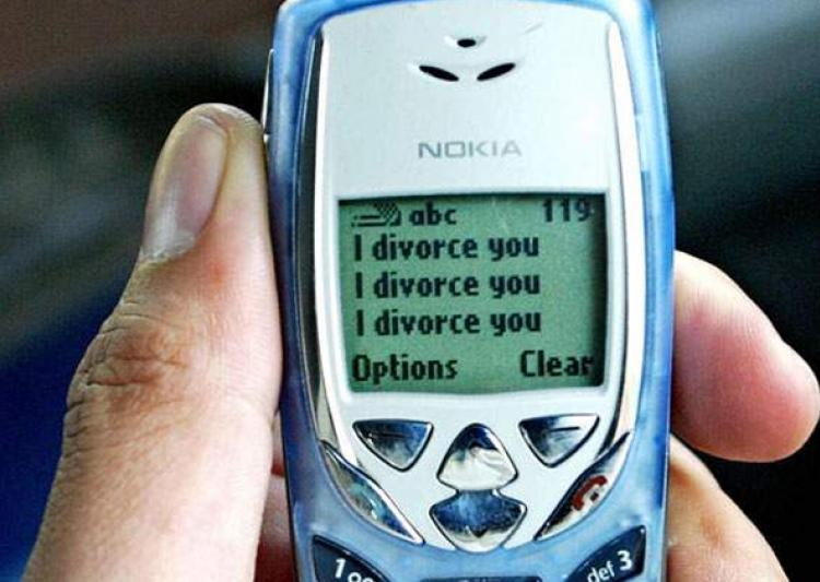 Triple Talaq — The Cult of Instant Divorce InIslam