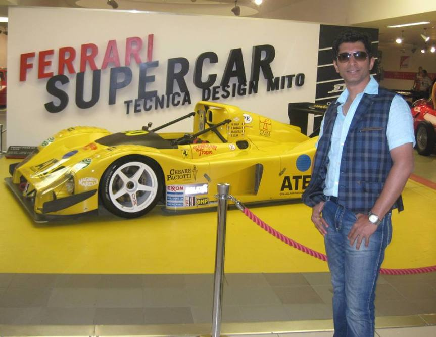 raghu and yellow car.jpg