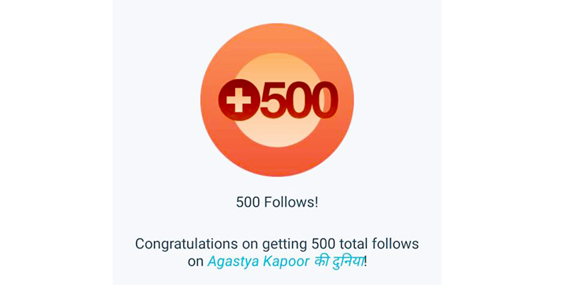 Sharing Gratitude With My 500 Followers!