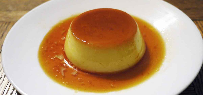 caramel-custard