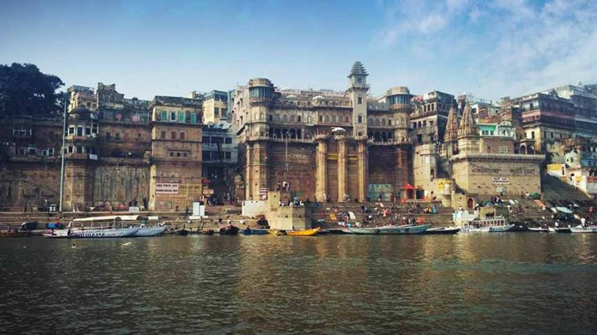 The Ghats Of Holy Varansi