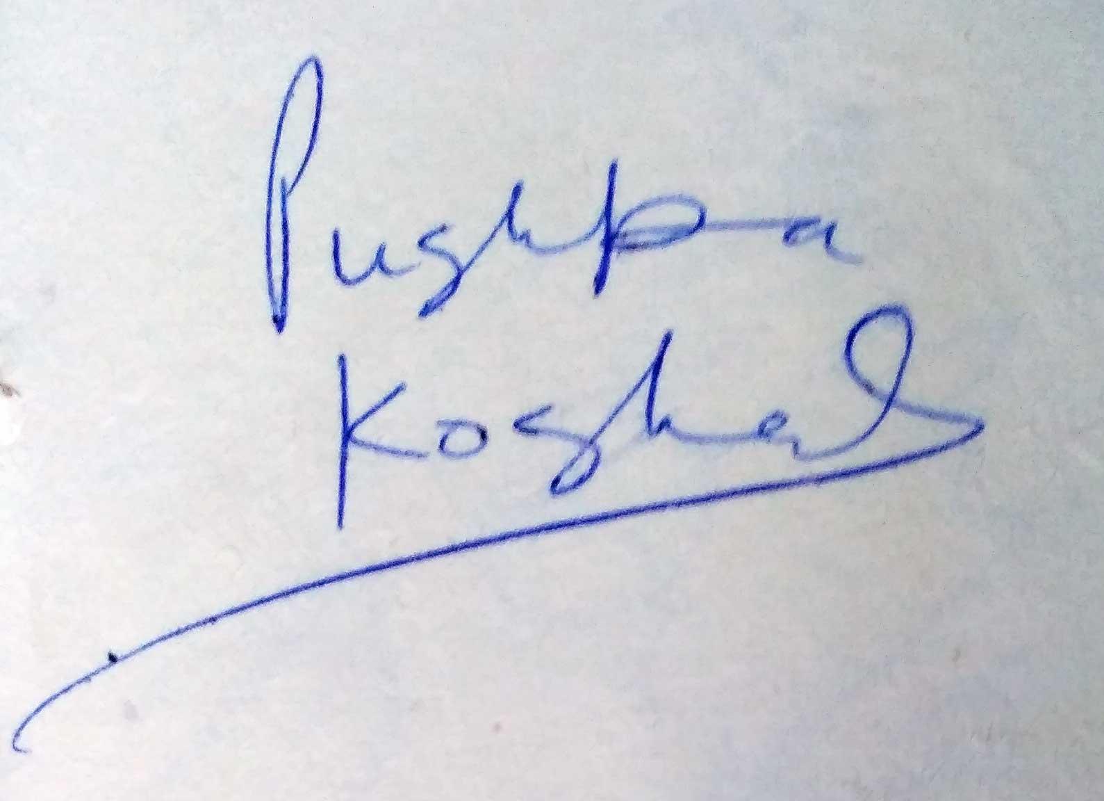 pushpa-koshal-autograph