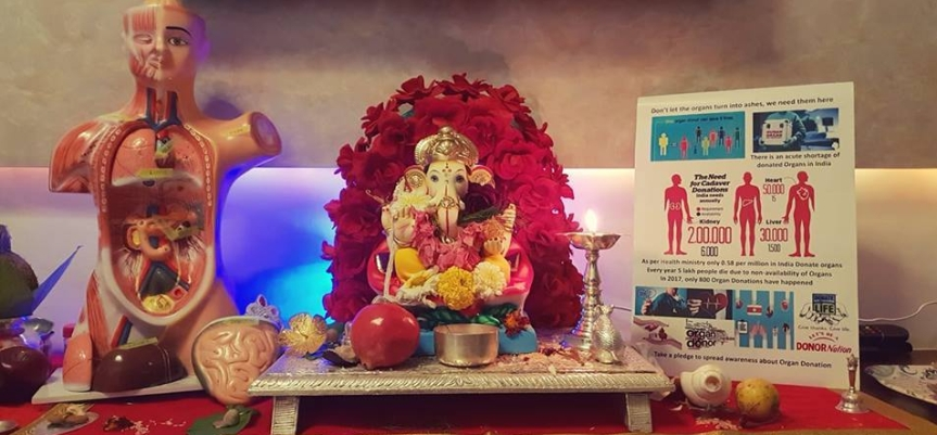Mumbai Man Spreads Lord Ganesha's Message for Organ Donation